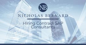 Hiring Contract SAP Consultants